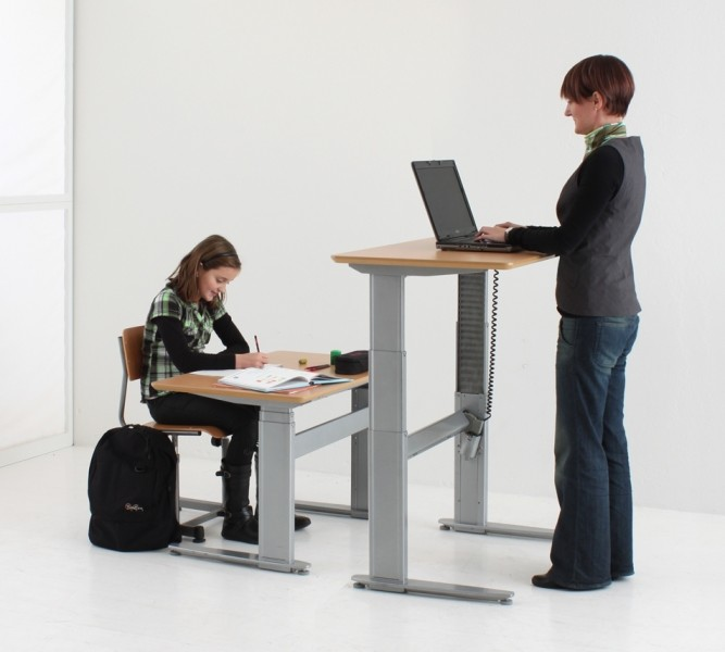 Electric Adjustable Sit-to-Stand Desk
